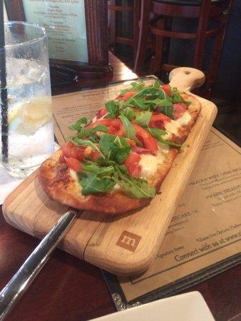 McKinney, TX: Prosciutto Flatbread Pizza