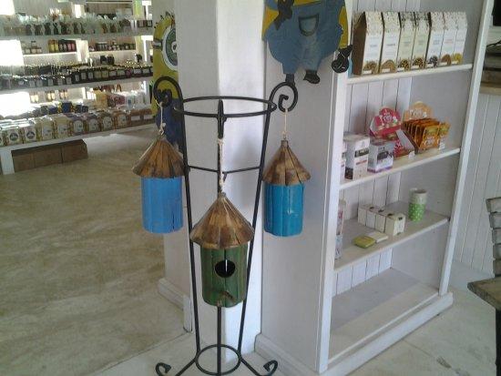 Pringle Bay, South Africa: Bird feeders