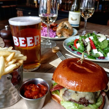 Burgers and Pints