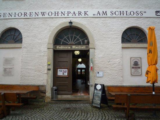 Ballenstedt, Germany: Eingang im EG des Seniorenwohnparks