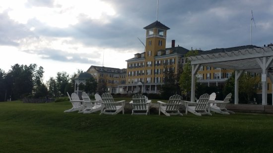 Whitefield, NH: the fire pit area