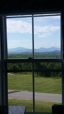 Whitefield, NH: the White mountains to the south; lovely views