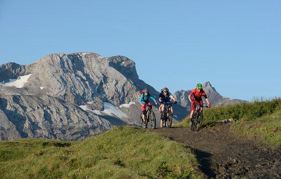 Lenk im Simmental, Switzerland: Entdeckungstouren mit dem Bike