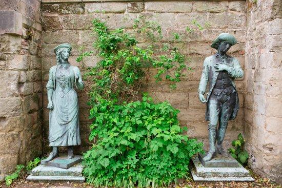 Warwick, UK: Garden