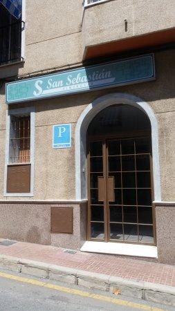 Hostal San Sebastian: Entrada