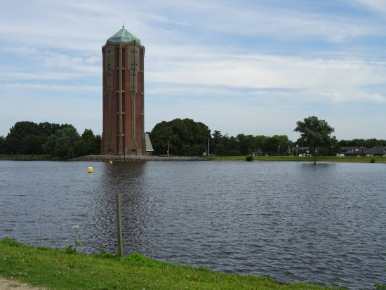 Art Deco Watertoren van Aalsmeer uit 1928