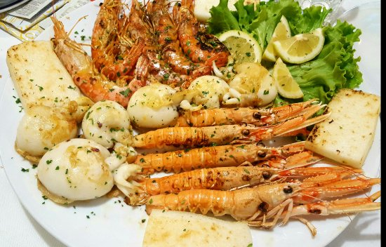 Musile di Piave, Italië: Una delle migliori grigliate di pesce che io abbia mai mangiato!