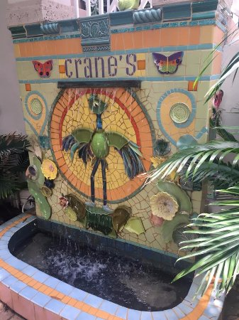 Crane's Beach House Boutique Hotel & Luxury Villas: One of many fountains at Crane's