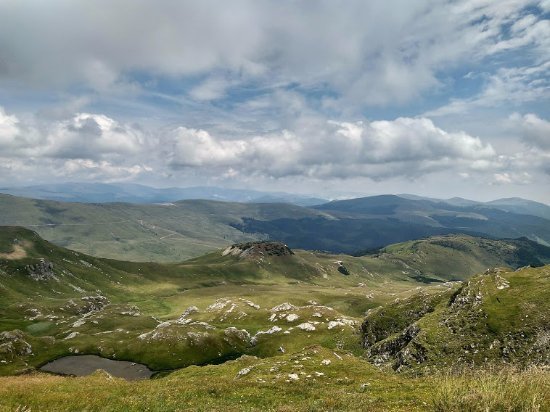 Southwest Romania, Romania: View from the top
