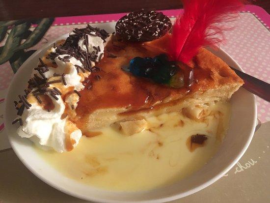 La Chanterelle: Gâteau ananas/rhum