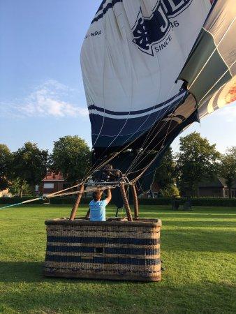 Bruges Ballooning: Tratando de arrancar
