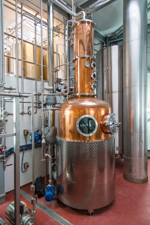 Southwold, UK: Whisky Still