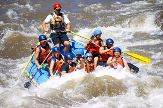 Cotopaxi, CO: My Family and I on our white water rafting adventure with Journey Quest!