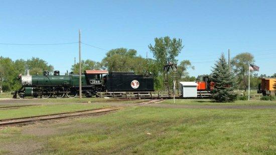 Sioux City, IA: The 1355 on the turn table