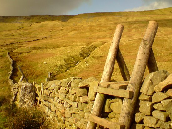 Yorkshire Dales National Park, UK: Whernside Mountain