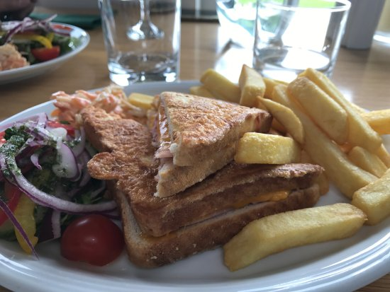 The Waterfront Restaurant: Croque Monsieur