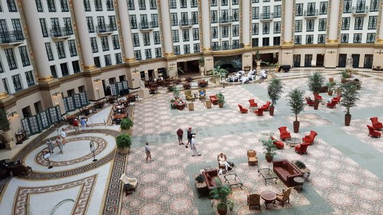 West Baden Springs, IN: From our room...