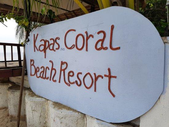 Kapas Coral Beach Resort: Desgusting chalet  _ chalet sale
