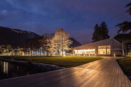 Melide, Ελβετία: Bellissimo anche in inverno