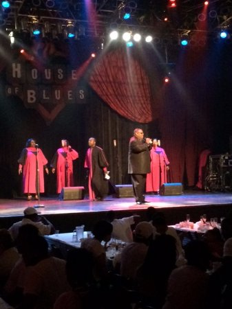 A fabulous show - Gospel Brunch at the House of Blues Chicago definitely delivered!