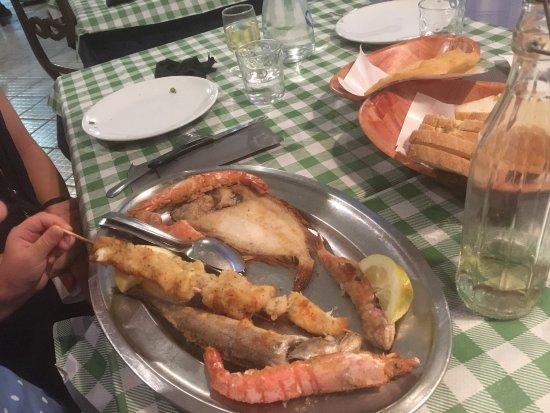 Ristorante Garibaldi: Great seafood!!