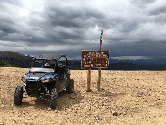 Pitkin, CO: Cumberland Pass