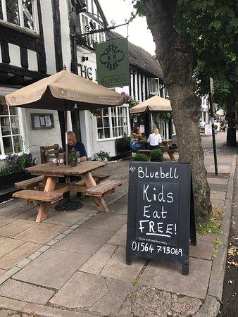 Henley in Arden, UK: Bluebell