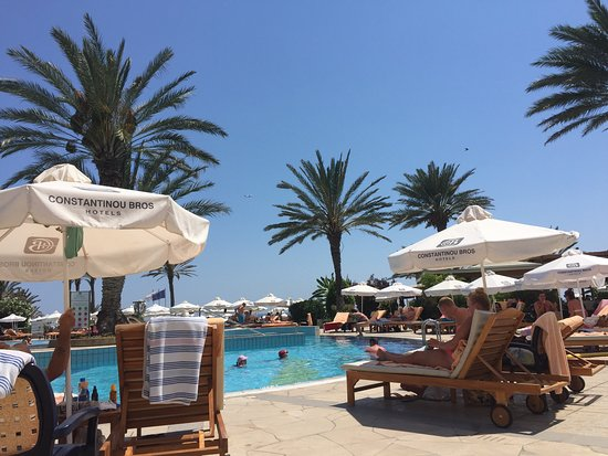 Constantinou Bros Athena Beach Hotel: 2nd pool view