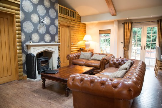 Little Budworth, UK: Lounge area in The Grand Fir