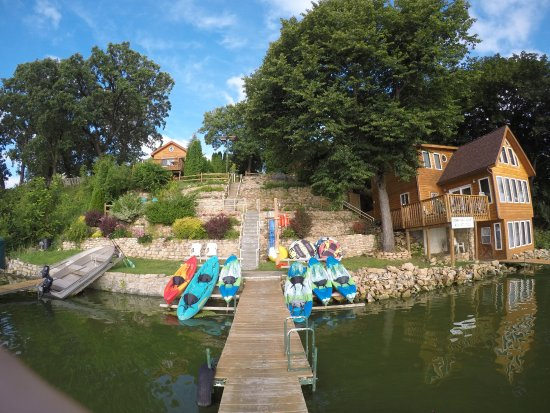 สโตตัน, วิสคอนซิน: Kayak,SUP,pontoon,fishing boat, and paddleboat rentals