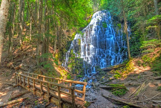 Welches, OR: Ramona Falls