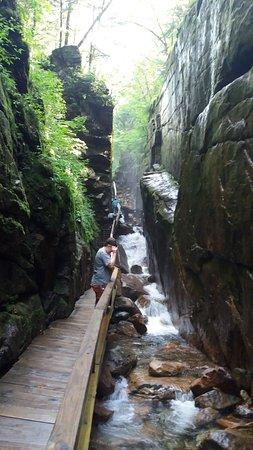 Franconia, Nueva Hampshire: Flume Gorge