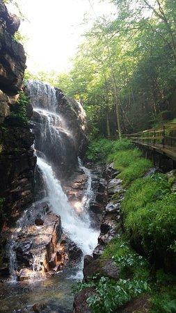 Franconia, Nueva Hampshire: Flume Gorge Falls