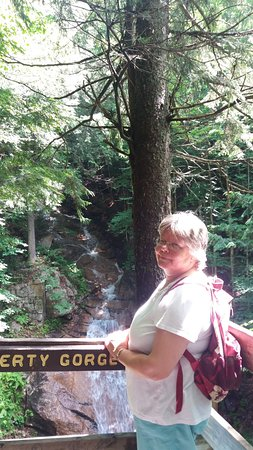 Franconia, Nueva Hampshire: liberty gorge