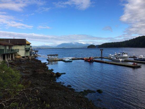 Quathiaski Cove, Canada : Spectacular morning at April Point Resort and Spa