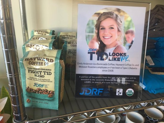 Hayward, WI: Fight T1D Blend fundraiser coffee