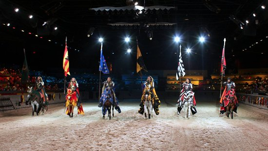 Medieval Times: The Knights were everything you would expect a knight to be