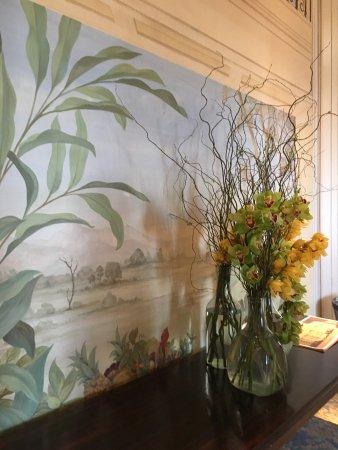 Belmond Copacabana Palace: Botanical Mural