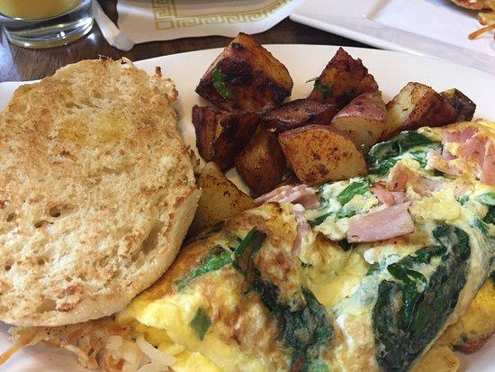 Plainville, MA: Victorias cafe