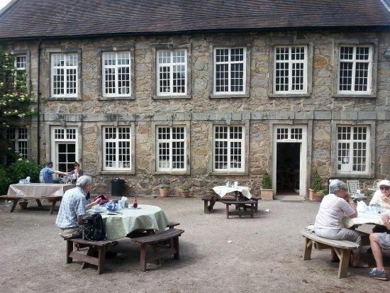 Melbourne Hall Tea Rooms Derbyshire