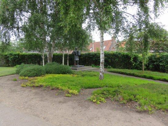 Auchtermuchty, UK: set in trees