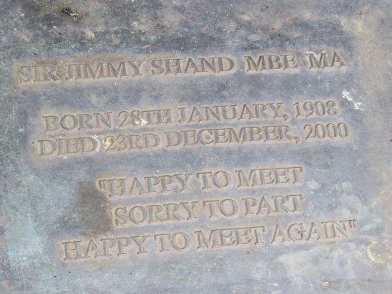 Auchtermuchty, UK: inscription