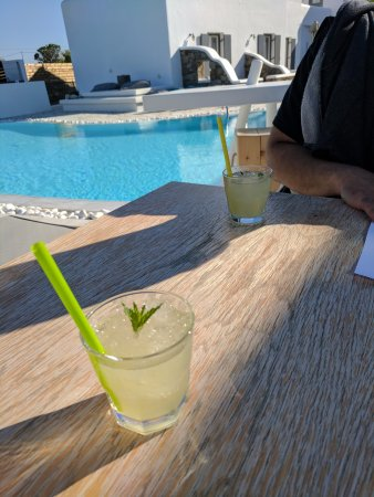 A Hotel  Mykonos: Welcome drinks