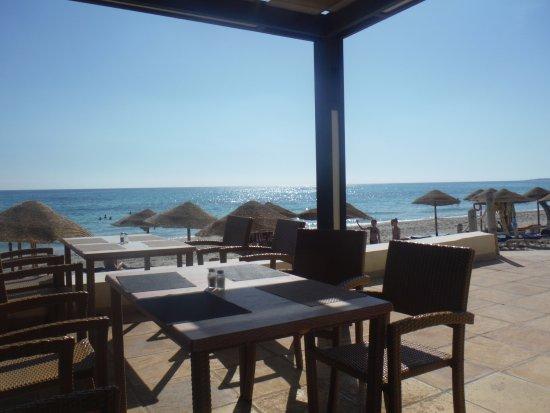 SENTIDO Djerba Beach: Restaurant externe au petit dejeuner