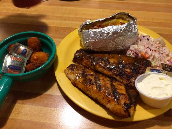 Morehead City, NC: Blackened Mahi-Mahi