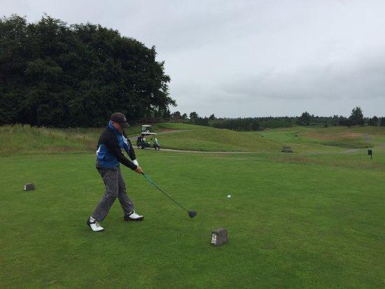 Auchterarder, UK: back 9 on the PGA course