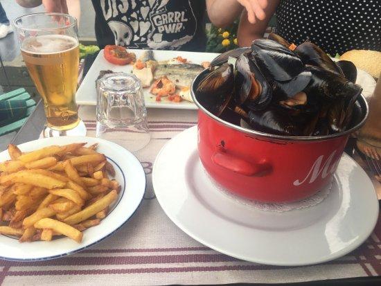 Le Bistrot du Port : Moules frites