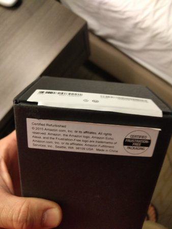 Eufaula, AL: Item that was inside of opened box that had a seal that had also been cut