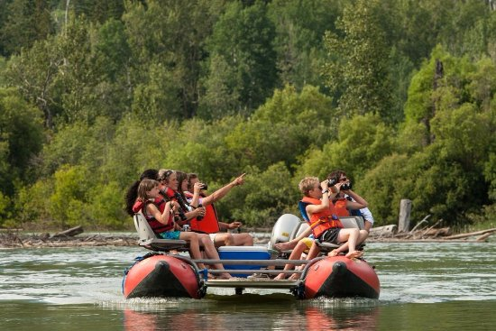 Golden, Canada: discover the Columbia wetlands on our guided float tour