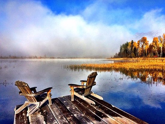 Golden, Canada: take a moment to soak in the beauty of wetlands